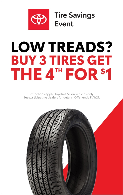 October Tire Event