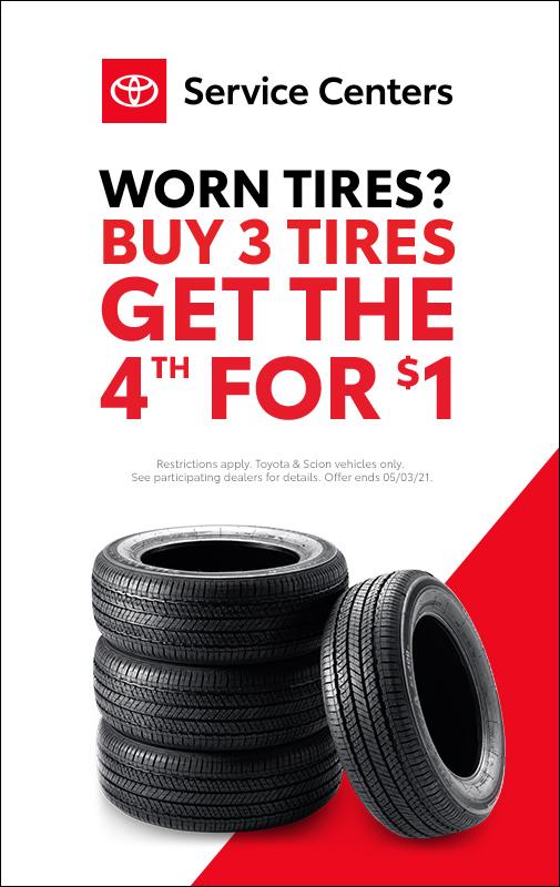 April Tire Event