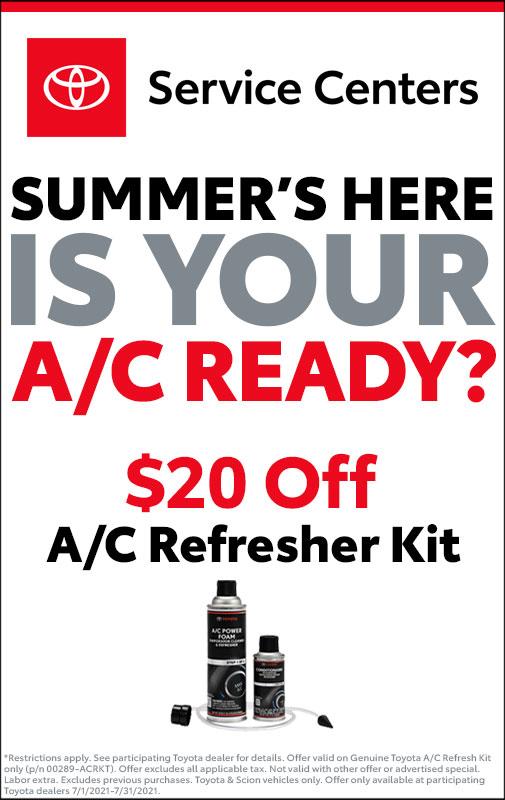 A/C Refresh Kit Service